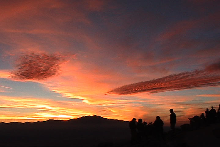 Keys View Sunset