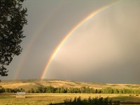 Rainbow at Carpenter Ranch