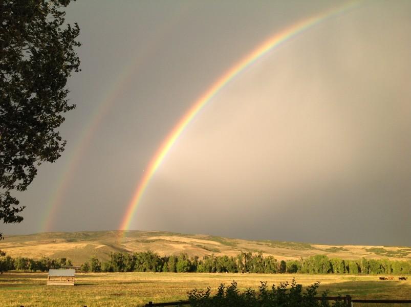 Rainbow at Carpenter Ranch